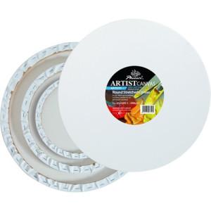 totenart - Pack de 3 lienzos redondos (∅ 20, 30 y 40 cm) 3