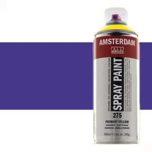 Totenart - Acrílico en spray Azul Ultramar Violeta 507 Amsterdam 400 ml.