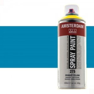 Totenart - Acrílico en spray Azul Brillante 564 Amsterdam 400 ml.