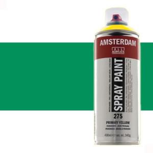 Totenart - Acrílico en spray Verde Veronés 615 Amsterdam 400 ml.