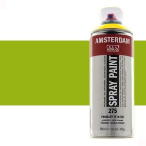 Totenart - Acrílico en spray Verde Amarillo 617 Amsterdam 400 ml.