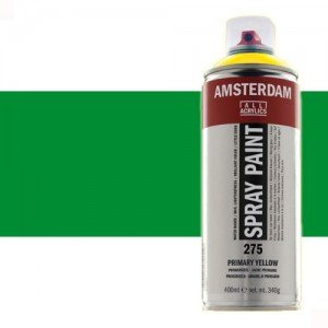 Totenart - Acrílico en spray Verde Permanente Claro  618 Amsterdam 400 ml.