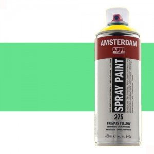 Totenart - Acrílico en spray Verde Reflex 672 Amsterdam 400 ml.
