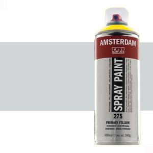 Totenart - Acrílico en spray Plata 800 Amsterdam 400 ml.
