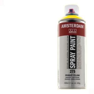 Totenart - Acrílico en spray Blanco de Titanio 105 Amsterdam 400 ml.
