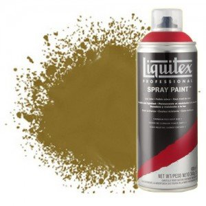 Totenart-Pintura en Spray Oro antiguo iridiscente 0237, Liquitex acrílico, 400 ml.
