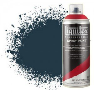 Totenart-Pintura en Spray Azul de Prusia 0320, Liquitex acrílico, 400 ml.