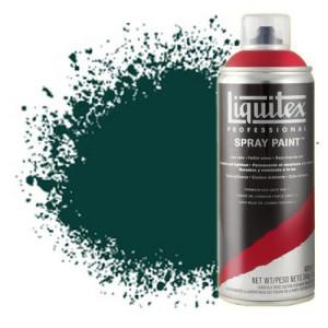 totenart-Pintura en Spray Verde oscuro permanente 0350, Liquitex acrílico, 400 ml.