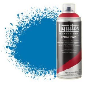totenart-Pintura en Spray Azul Brillante 0570, Liquitex acrílico, 400 ml.
