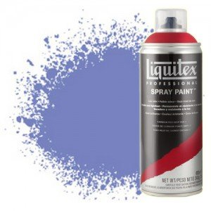 Totenart-Pintura en Spray Purpura Brillante 0590, Liquitex acrílico, 400 ml.