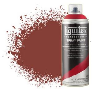 Totenart-Pintura en Spray Rojo cadmio claro 2, 2510, Liquitex acrílico, 400 ml.