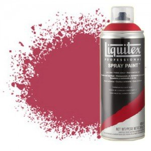 totenart-Pintura en Spray Rojo cadmio oscuro 5 5311, Liquitex acrílico, 400 ml.