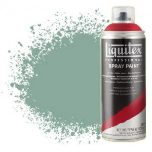 totenart-Pintura en Spray Verde óxido de cromo 6, 6166, Liquitex acrílico, 400 ml.