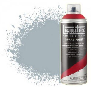 Totenart-Pintura en Spray Gris neutro 7, 7599, Liquitex acrílico, 400 ml.