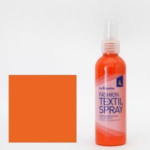 totenart-Pintura textil Naranja California 03 SPRAY (100 ml.), La Pajarita