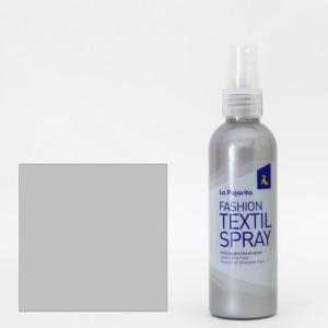 totenart-Pintura textil Plata 12 SPRAY (100 ml.), La Pajarita