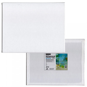 Tablilla entelada para acuarela con preparación universal (40x50 cm)