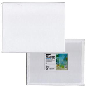 Tablilla entelada para acuarela con preparación universal (20x20 cm)