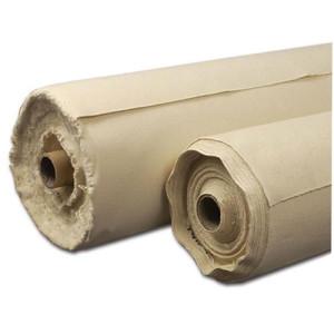 Tela de algodón color crudo sin imprimar (0,70x1 m)