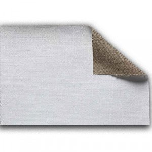 totenart-Tela 100% lino L1 imprimado, 330 gr, Gr. medio, rollo (2,10x10 m)