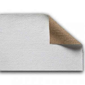 totenart-Tela de Yute 1H4 imprimado, 635 gr, Gr. extra grueso, rollo (2,10x10 m)