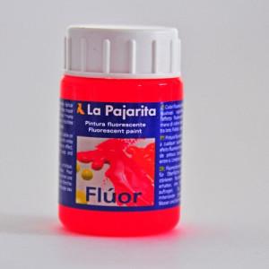 totenart-tempera-gouache-satinada-pajarita-fluor-rojo-amapola-bote-35-ml