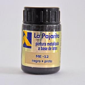 totenart-tempera-gouache-satinada-pajarita-metalizada-negro-bote-35-ml