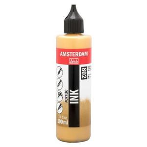 Tinta Acrílica Oro Claro 802 Amsterdam (100ml.)