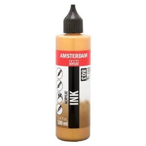 Tinta Acrílica Oro Oscuro 803 Amsterdam (100ml.)