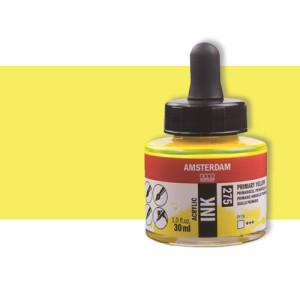 Tinta Acrílica amarillo azo limón Amsterdam (30ml.)