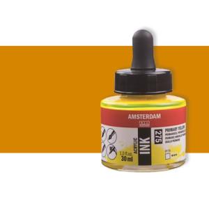 Totenart-Tinta Acrílica amarillo azo oscuro Amsterdam (30ml.)