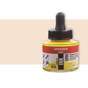 Totenart-Tinta Acrílica amarillo rojo Nápoles Claro Amsterdam (30ml.)