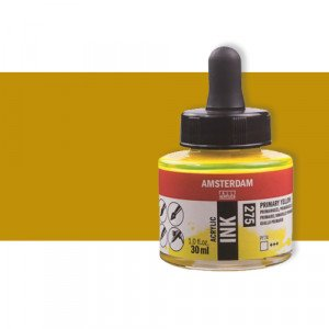 Totenart-Tinta Acrílica ocre amarillo Amsterdam (30ml.)