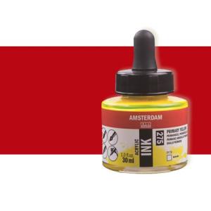 Totenart-Tinta Acrílica rojo pyrrole Amsterdam (30ml.)