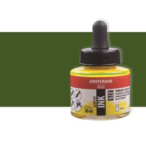 Totenart-Tinta Acrílica verde oliva oscuro Amsterdam (30ml.)