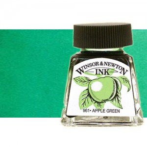 totenart-tinta-china-dibujo-winsor-newton-color-verde-esmeralda-frasco-14-ml