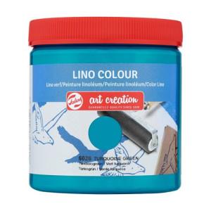 Tinta Linograbado Color Verde Turquesa 6026, 250 ml. ArtCreation