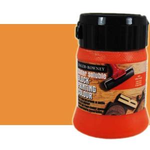 totenart-Tinta Xilografia Naranja Daler Rowney, bote 250 ml.