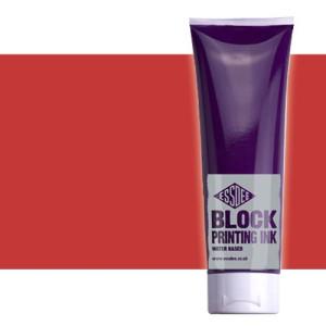 totenart-tinta-linograbado-rojo-bermellon-essdee-tubo-300-ml