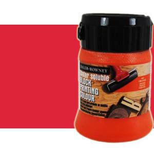 totenart-Tinta Xilografia Rojo Brillante Daler Rowney, bote 250 ml.