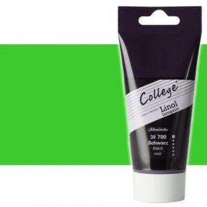 Tinta linograbado verde Schmincke College Linoprint 75 ml.