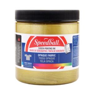 Tinta serigrafia al agua Oro 236 ml. Speedball