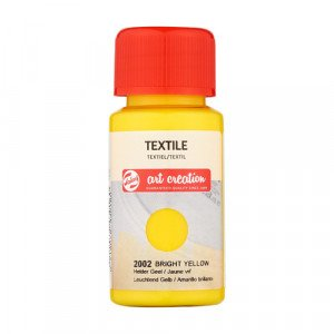 Tinta Textil Amarillo Brillante 2002, 50 ml. ArtCreation