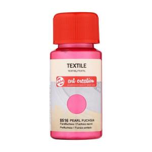 Tinta Textil Fucsia Perlado 8516, 50 ml. ArtCreation