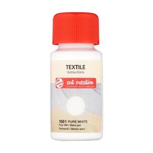 Tinta Textil Blanco Puro 1001, 50 ml. ArtCreation