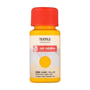 Tinta Textil Amarillo Sol 2004, 50 ml. ArtCreation