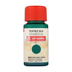 Tinta Textil Seda Verde Brillante 6003, 50 ml. ArtCreation
