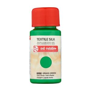 Tinta Textil Seda Verde Hierba 6006, 50 ml. ArtCreation