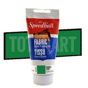 Tinta xilografia textil verde Speedball 75 ml.