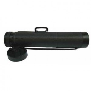 totenart-Tubo Portaplanos Extra Negro, para telas 18x135 cm asa
